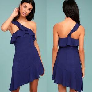 Lulus One Shoulder Dress